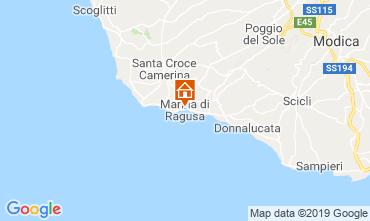 Mappa Marina di Ragusa Appartamento 118163