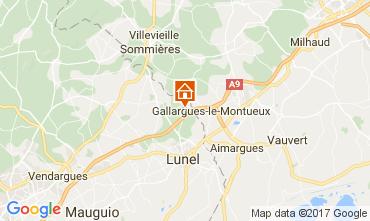 Mappa La Grande Motte Villa  104733