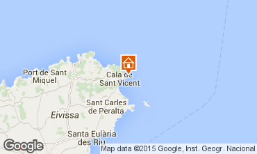 Mappa San Carlos Villa  40865