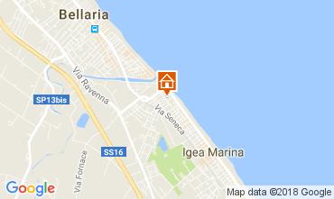 Mappa Bellaria Igea Marina Appartamento 45702