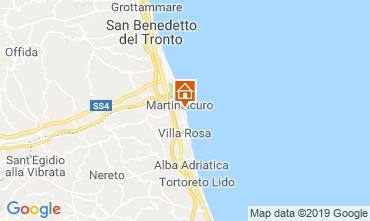 Mappa Martinsicuro Appartamento 95694