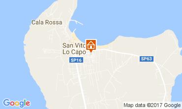 Mappa San Vito lo Capo Appartamento 109302