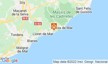 Mappa Tossa de Mar Villa  112326
