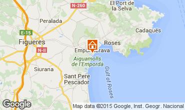 Mappa Empuriabrava Monolocale 94548