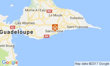Mappa Sainte Anne (Guadalupa) Appartamento 102738
