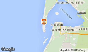 Mappa Cap Ferret Villa  9368