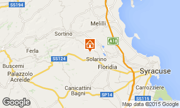 Mappa Siracusa Villa  92428