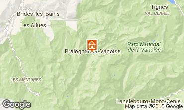 Mappa Pralognan la Vanoise Chalet 93579