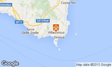 Mappa Villasimius Appartamento 64239