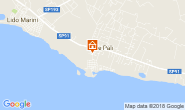 Mappa Torre Pali Villa  108371