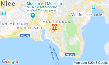 Mappa Nizza Villa  117272