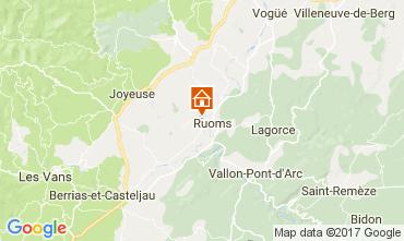 Mappa Vallon-Pont-D'Arc Agriturismo 112484