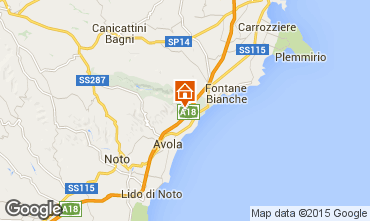 Mappa Siracusa Villa  67859
