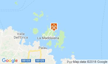 Mappa La Maddalena Villa  55314
