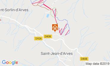 Mappa Saint Jean d'Arves Appartamento 119843