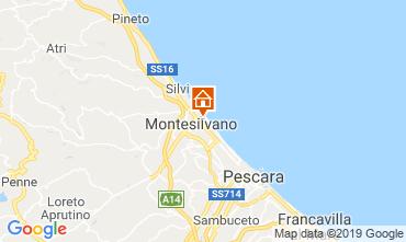 Mappa Montesilvano Marina Appartamento 118444