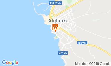 Mappa Alghero Appartamento 114225