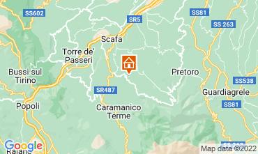 Mappa Caramanico Terme Appartamento 99089