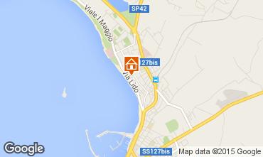 Mappa Alghero Appartamento 94404