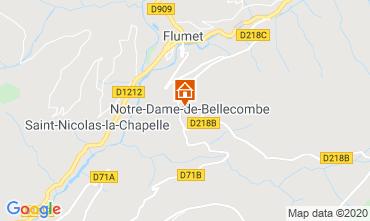 Mappa Les Saisies Monolocale 112090
