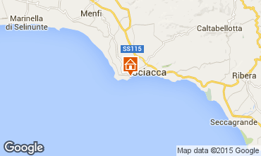 Mappa Sciacca Bungalow 19013