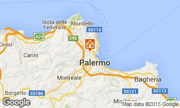 Mappa Palermo Appartamento 10233