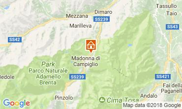 Mappa Madonna di Campiglio Appartamento 101339