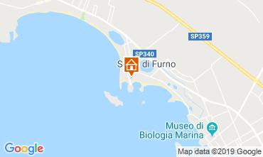 Mappa Porto Cesareo Appartamento 117641