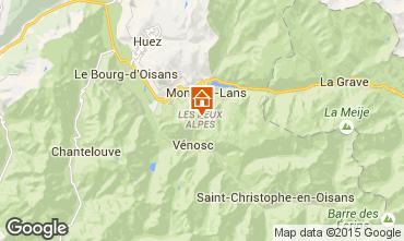 Mappa Les 2 Alpes Appartamento 59362
