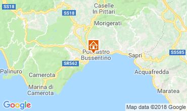 Mappa Policastro Bussentino Bungalow 76054