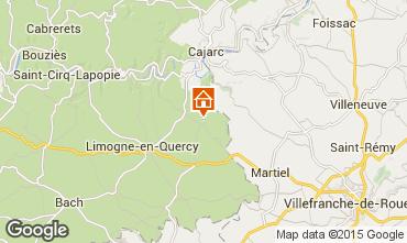 Mappa Saint-Cirq-Lapopie Agriturismo 93953