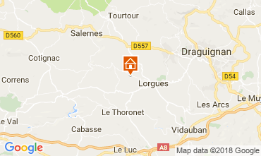 Mappa Lorgues Villa  115618
