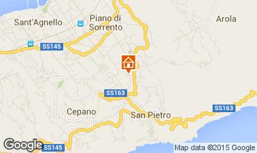 Mappa Sorrento Appartamento 53852