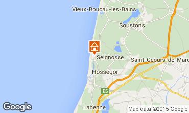 Mappa Hossegor Villa  38252