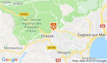 Mappa Grasse Villa  118551