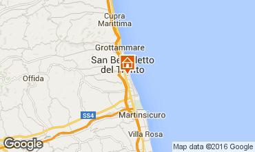 Mappa San Benedetto del Tronto Appartamento 103205
