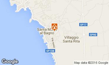 Mappa Santa Maria al Bagno Appartamento 35415
