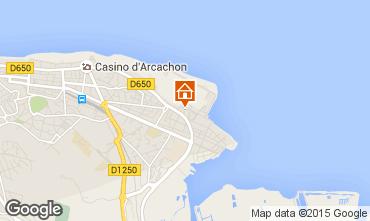 Mappa Arcachon Appartamento 92358