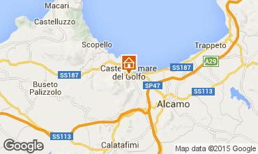 Mappa Castellammare del Golfo Appartamento 57307