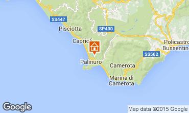Mappa Palinuro Villa  70058