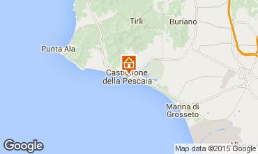 Mappa Castiglione della Pescaia Villa  71482