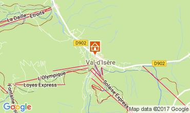 Mappa Val d'Isère Monolocale 38836
