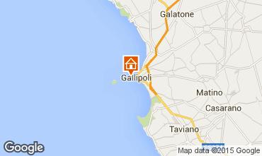Mappa Gallipoli Monolocale 86067