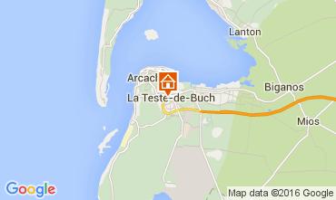 Mappa Arcachon Appartamento 93098