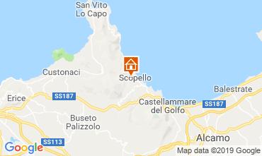 Mappa Scopello Appartamento 80627