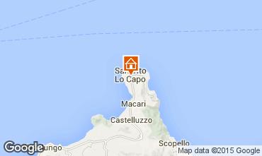 Mappa San Vito lo Capo Appartamento 77198
