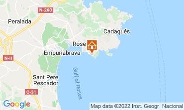 Mappa Rosas Casa 89704