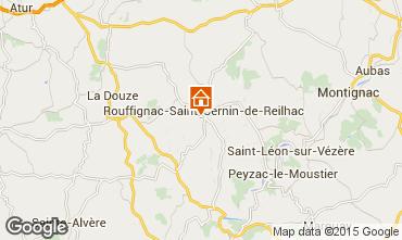 Mappa Les Eyzies de Tayac Casa 12399