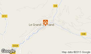 Mappa Le Grand Bornand Appartamento 1364