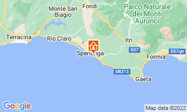 Mappa Sperlonga Appartamento 97604